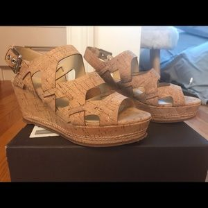 Donald Pliner Cork Sandals- NWOT